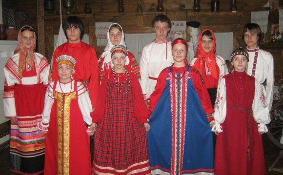 Русский костюм ix-x