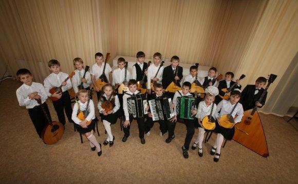 Детский оркестр русских