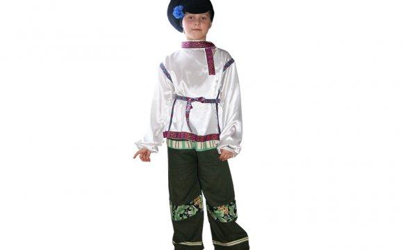 Карнавальный костюм для детей