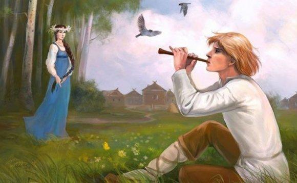 Музыкальные инструменты русов