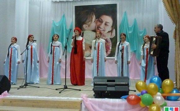 Конкурс русской народной песни